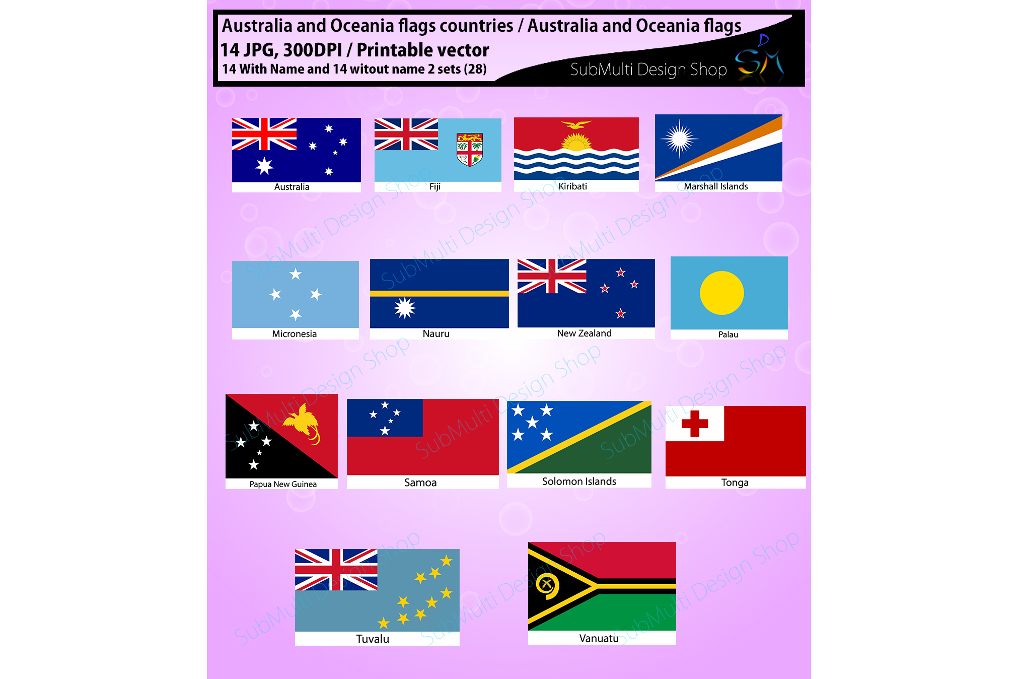 Australia clipart high quality. And oceania countries flags