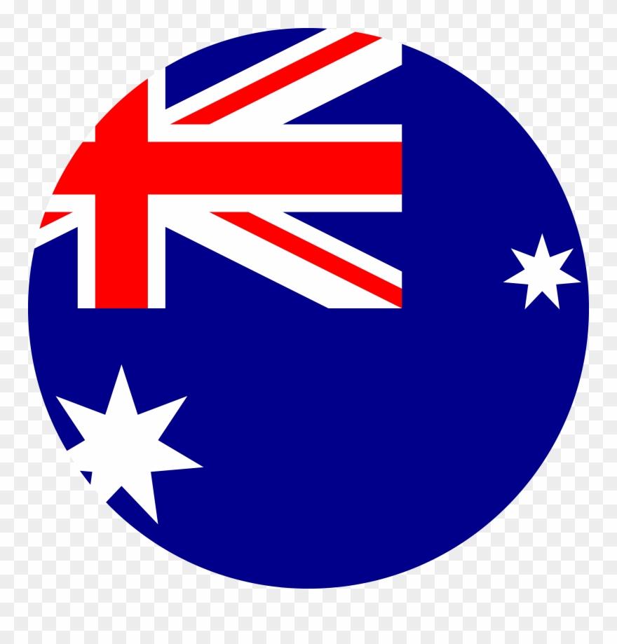 Transparent background flag . Australia clipart high quality