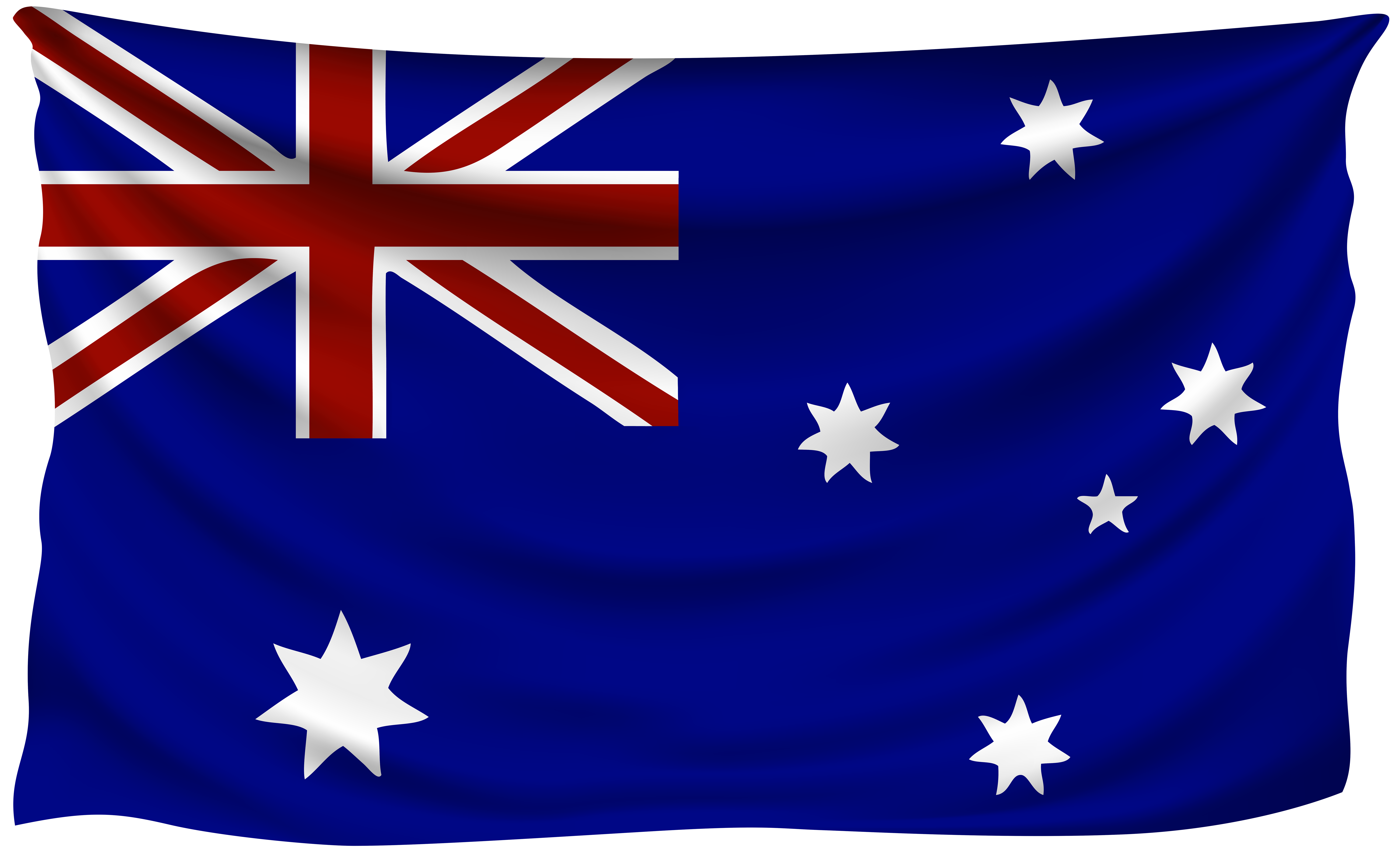 Wrinkled flag gallery yopriceville. Australia clipart high quality