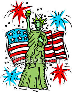 Australia clipart independence. Day at the statue