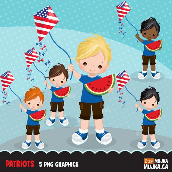 th of july. Australia clipart independence
