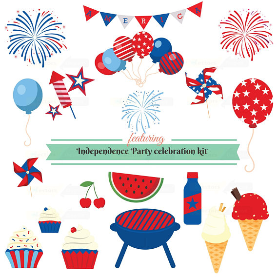 th july us. Australia clipart independence
