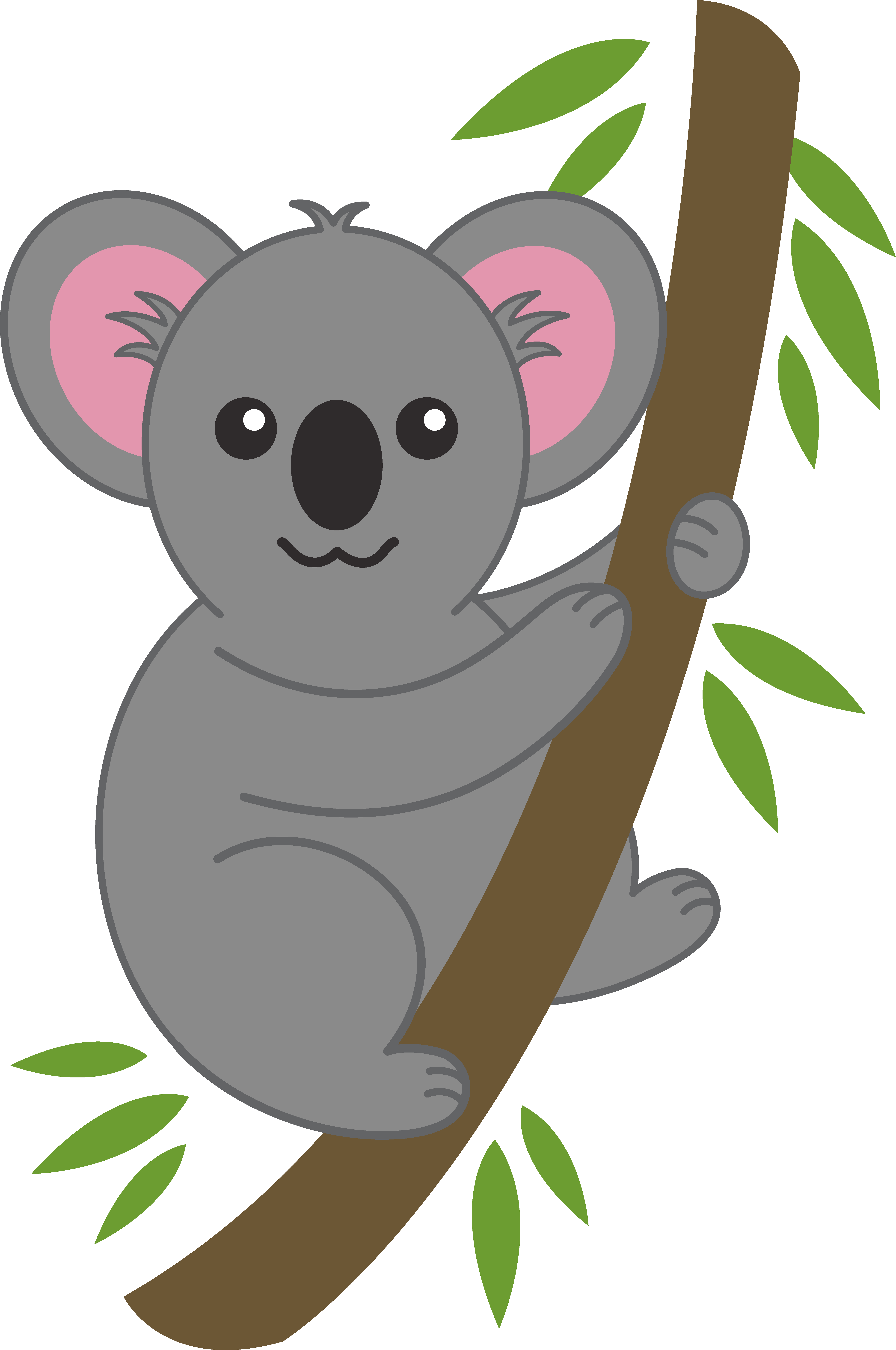 Koala bear clip art. Hamster clipart forest animal