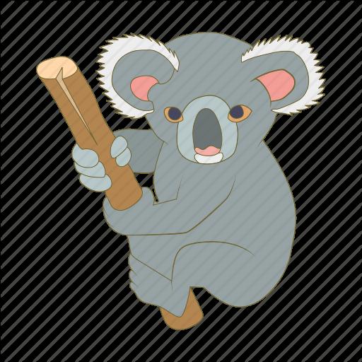 Cartoon by ivan ryabokon. Australia clipart koala
