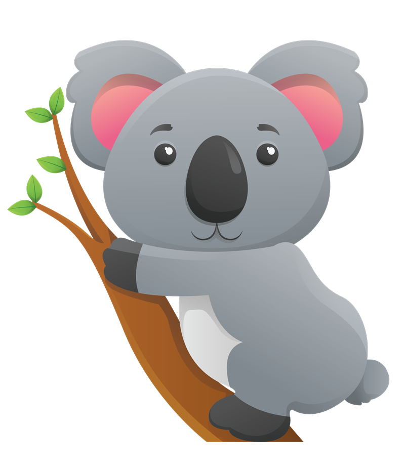 Ham clipart cute. Koala google search animals