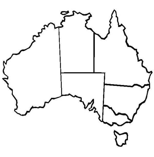Australia clipart line. World map of panda