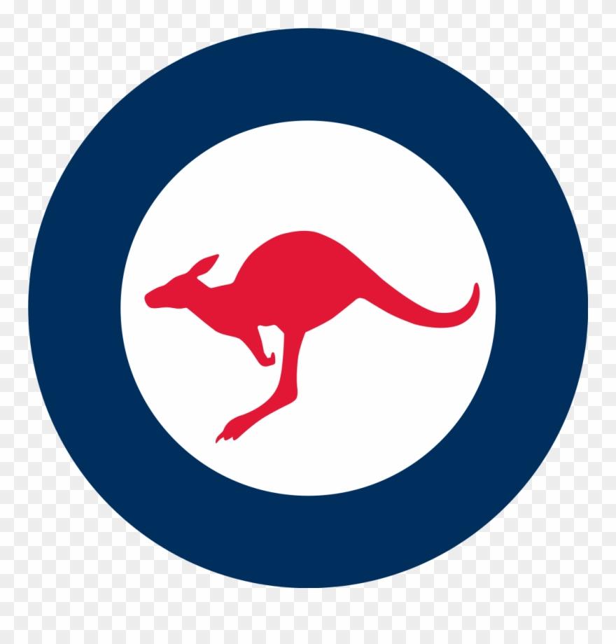 Kangaroo clipart person australia. Royal australian air