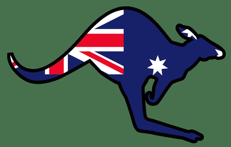 Flag png transparent quality. Kangaroo clipart person australia
