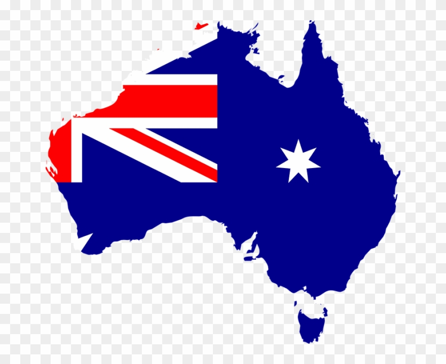 Australia clipart map. Of pinclipart