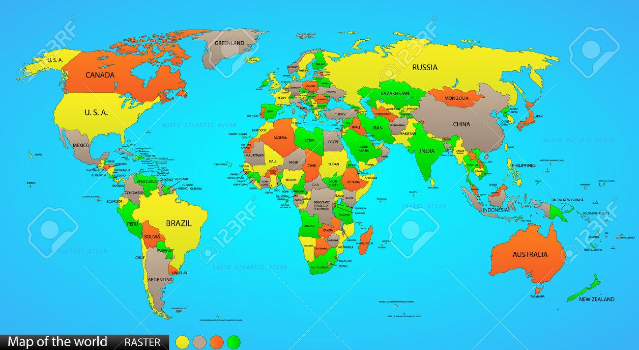 Download map world names. Australia clipart name