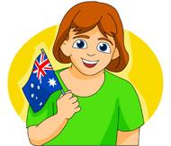 Australia clipart person australian. Search results for flag