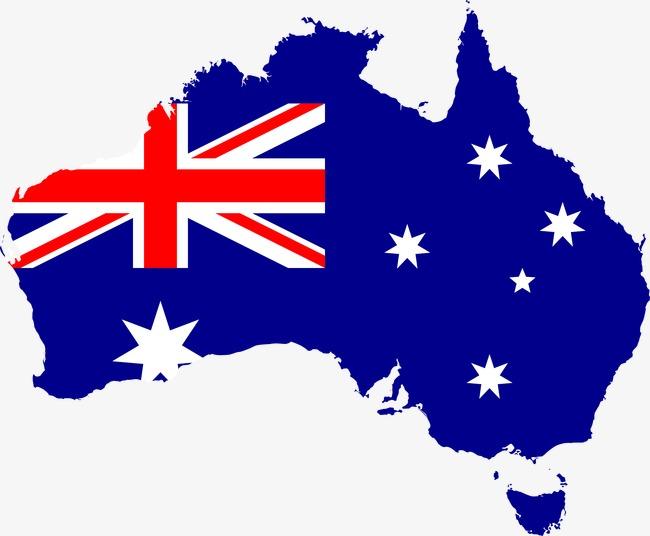 Australia clipart shape. Is the of flag