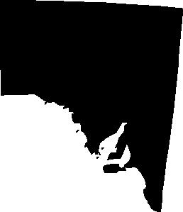 Australia clipart silhouette. South clip art at