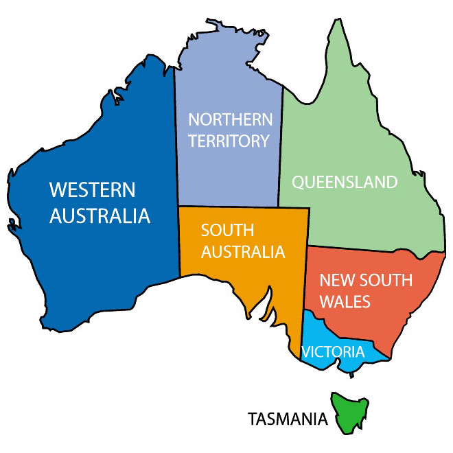 Australia clipart simple. Map silhouette at getdrawings