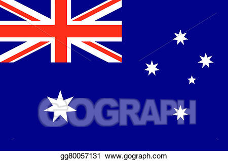Australia clipart text. Drawing flag with gg