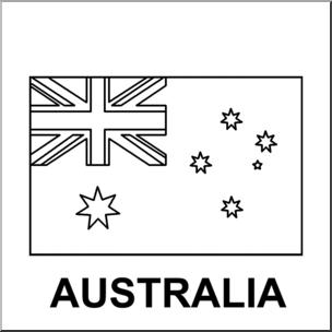 Australia clipart text. Clip art flags b