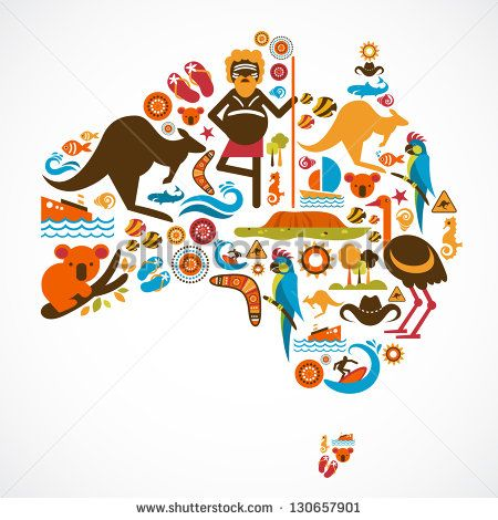 best graphic design. Australia clipart text