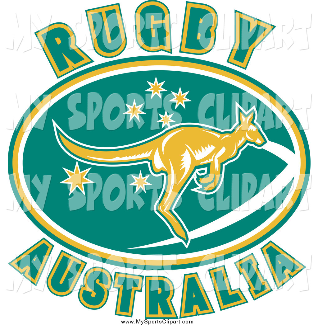 Sports clip art of. Australia clipart text