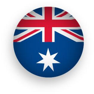 Australia clipart transparent background. Free animated australian flags