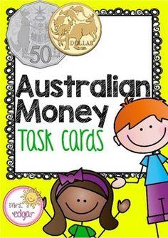 Australian money puzzles includes. Australia clipart word