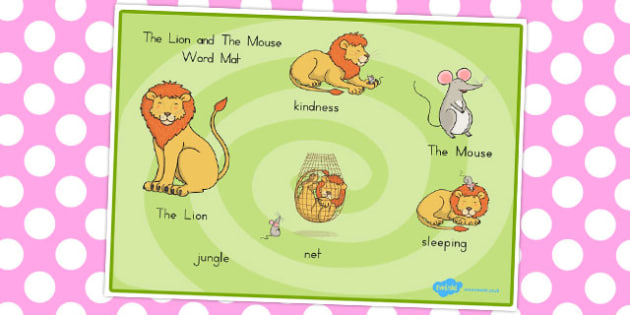 Australia clipart word. The lion and mouse