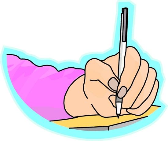 Handwriting clipart teacher. Home education western australia