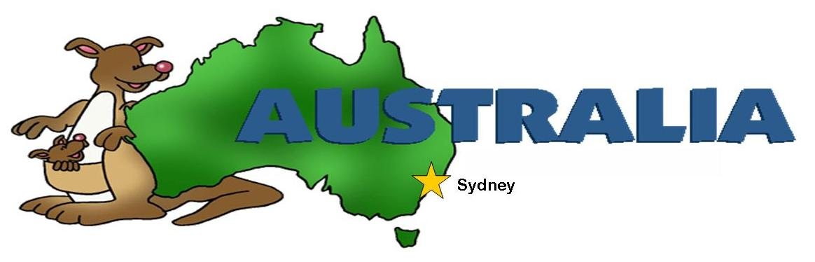 Where to find us. Australia clipart writing