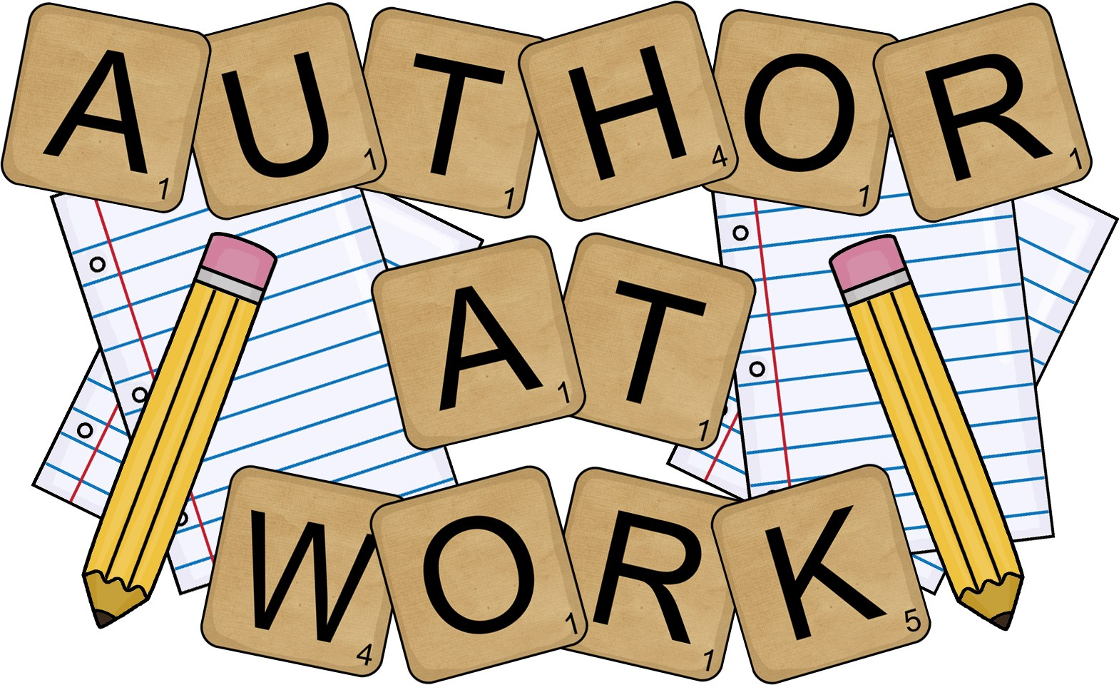 Author clipart book author. February mjbreviewers i love