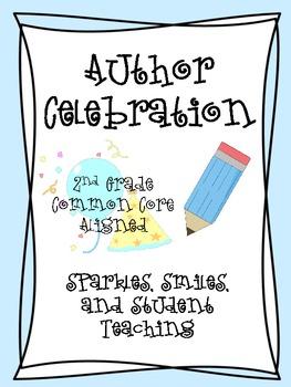 Author clipart celebration. Authors teaching resources teachers