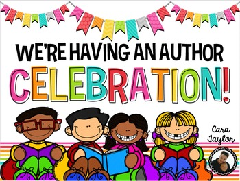 Author clipart celebration. Publishing party by cara