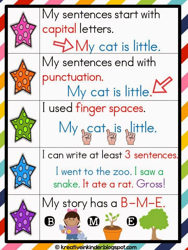 Author clipart checklist student. Writing freebie from my