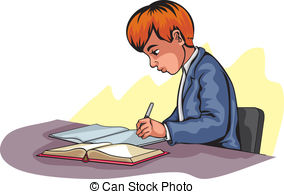 Writer panda free images. Author clipart child