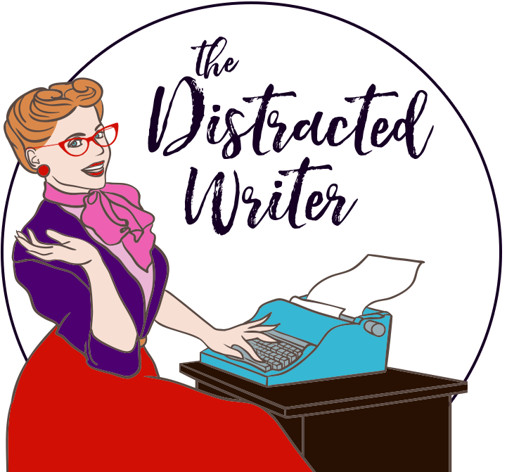 The distracted author mj. Writer clipart morning work