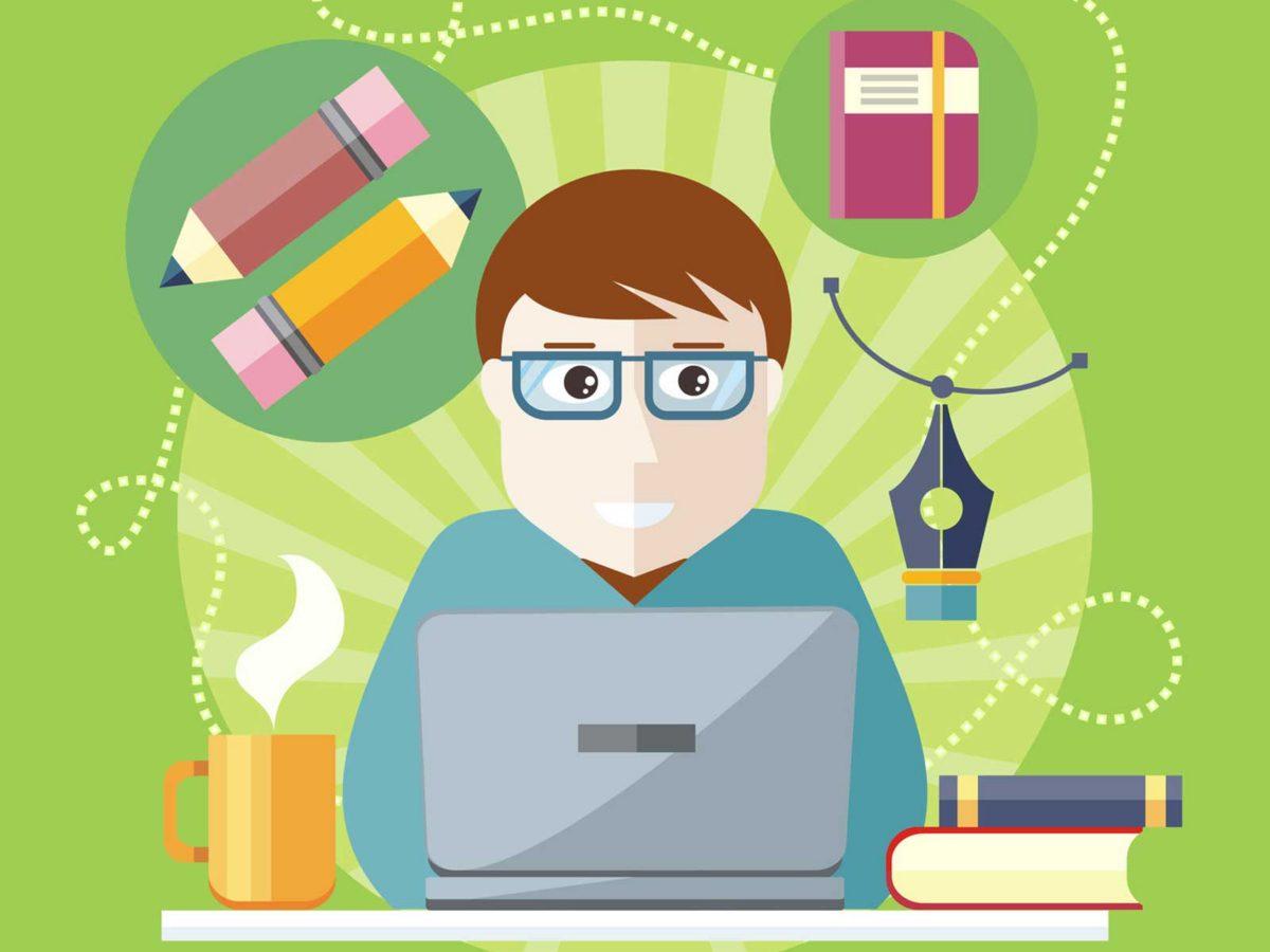 Author clipart copywriter.  free online tools