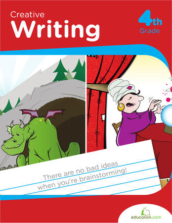 Workbook education com fourth. Author clipart creative writing