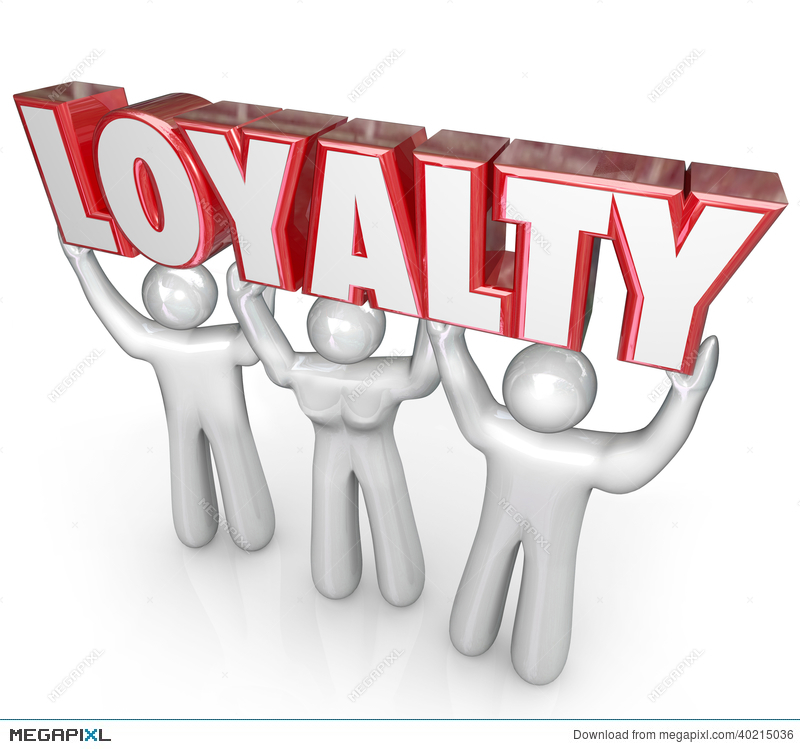 Author clipart dedicated. Loyalty word people team