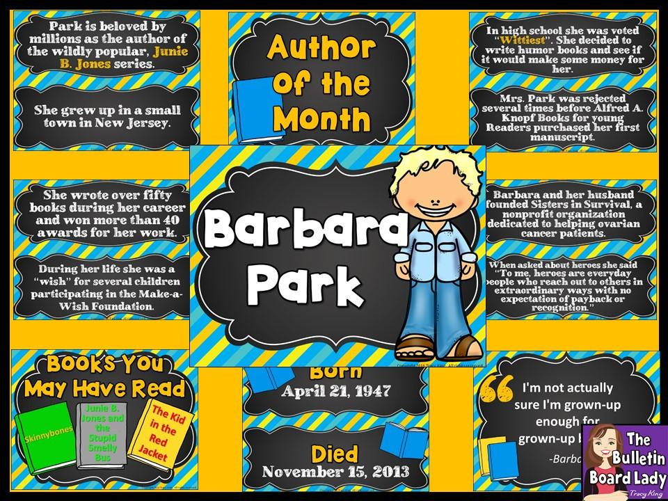 Of the month barbara. Author clipart dedicated