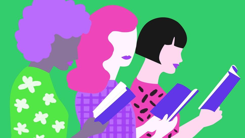 books by authors. Author clipart female author