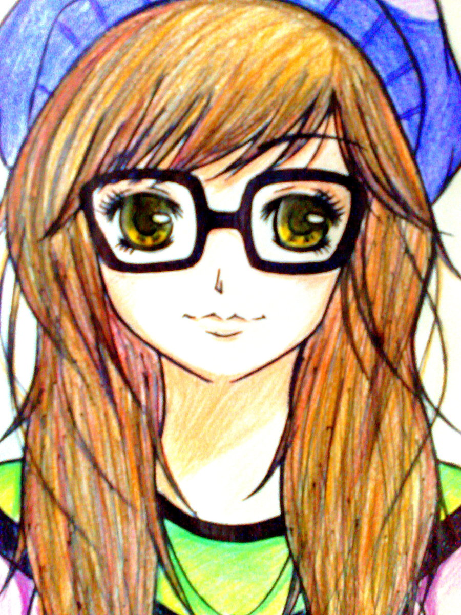 Glasses drawing at getdrawings. Author clipart girl nerd