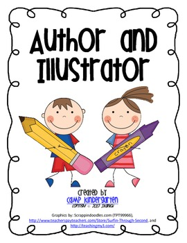 And illustrator posters song. Author clipart illustration