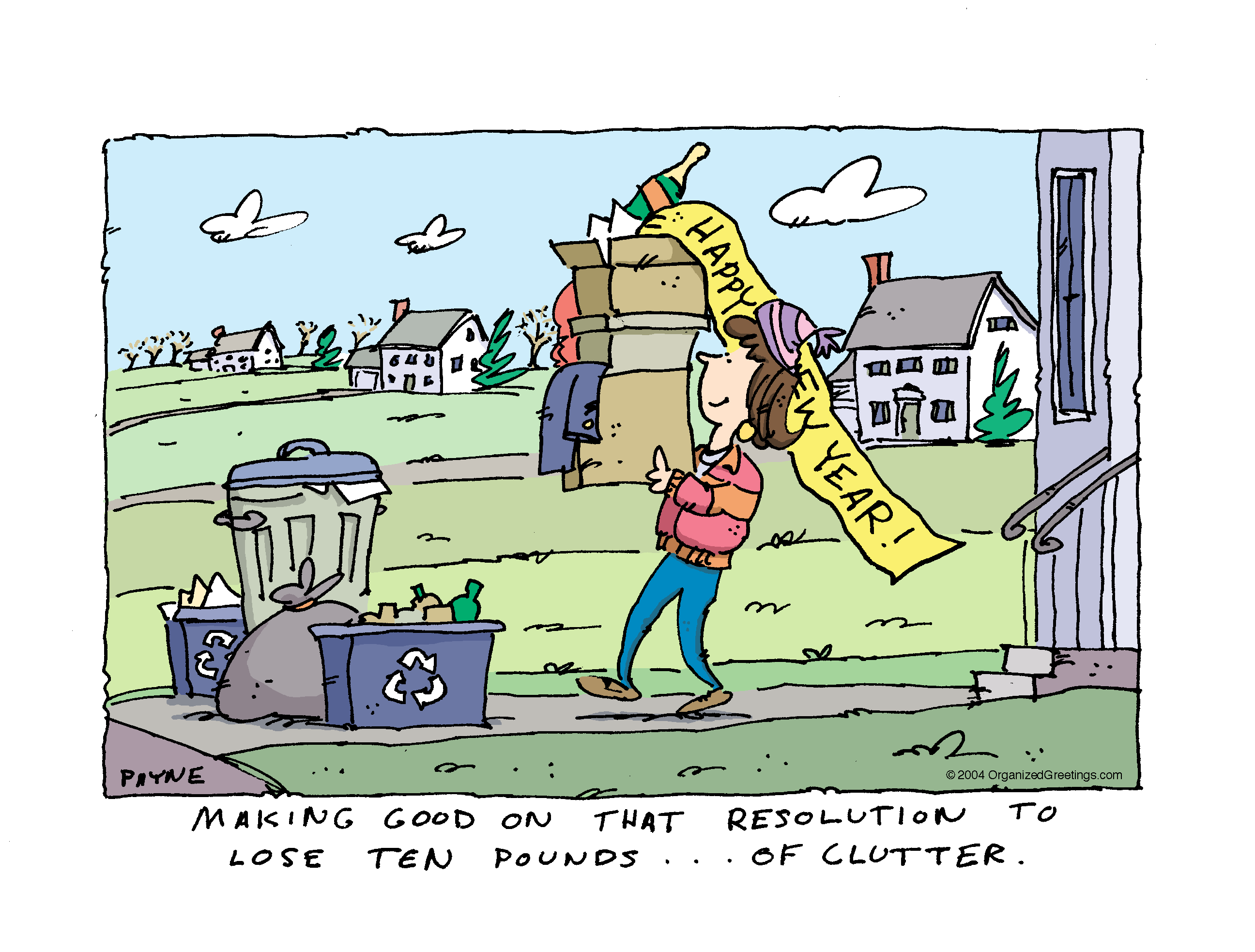 Author clipart neatness. Clutter and the battle