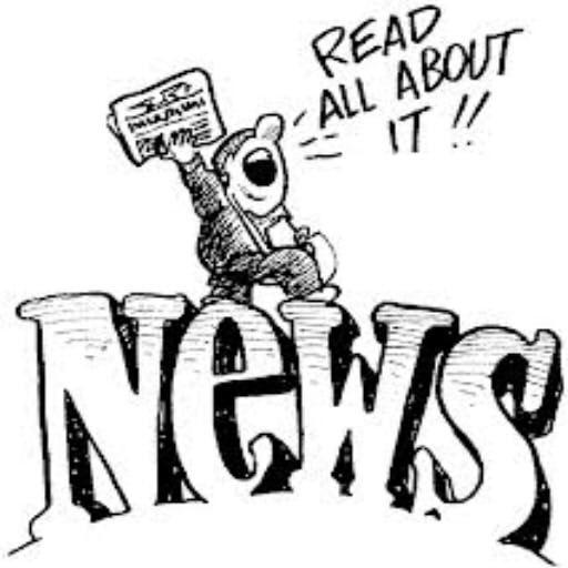 Author clipart news writer.  best pm novels