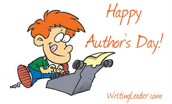Author clipart professional writing. November is s day