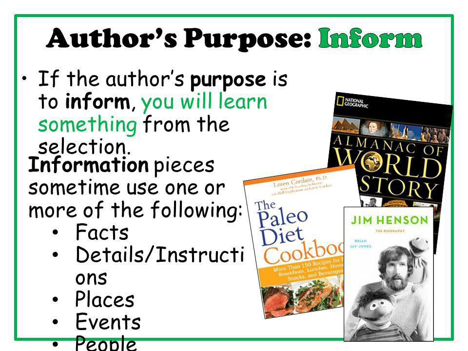 Author clipart purpose. S point of view