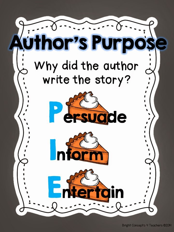 Author clipart purpose. It s as easy