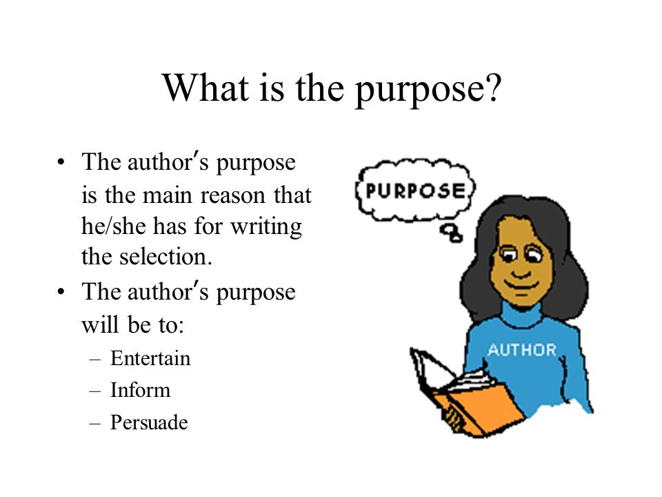 S and point of. Author clipart purpose