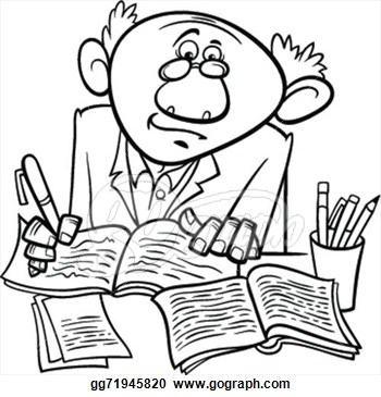 Author clipart script writer. Writers clip art free