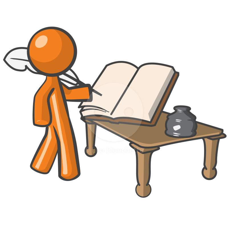 Writer clipart script writer.  collection of writing