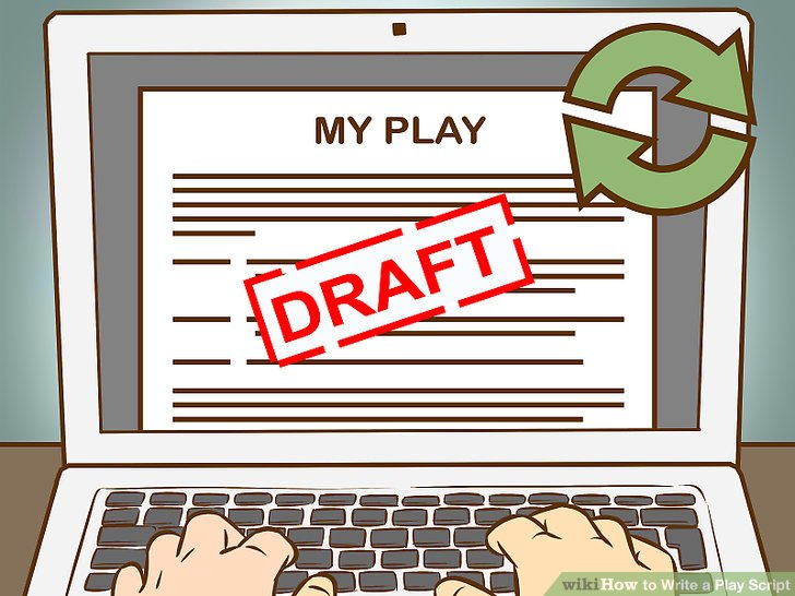Author clipart script writer. How to write a