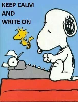 Author clipart snoopy. The one of my